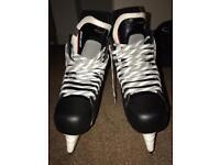 Bauer men's ice skates vapor X 300, black 9.5 size