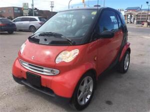 2006 smart fortwo Pulse  0.8L 3CYL DIESEL FUEL Sunroof!