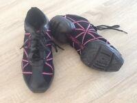 Girls Capezio dance shoes