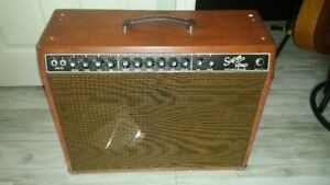 """Fender """"Super Amp"""" with 2 combo cabs. Two channel witth Reverb.."""