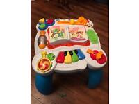 Leap frog learn and groove table