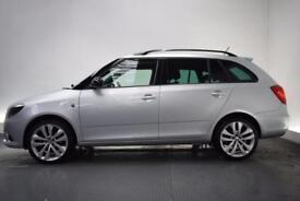 SKODA FABIA 1.4 VRS DSG 5d AUTO 180 BHP (silver) 2013