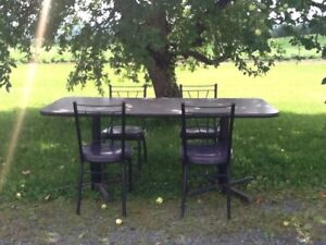 Large Table & Chairs!