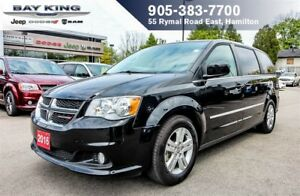 2016 Dodge Grand Caravan CREW, BLUETOOTH, STOW N'GO, BACKUP CAM,
