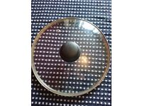 Frying Pan Glass Lid with Knob (25 cm pan)