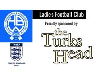 Female Football Players Wanted (Aged 16+)