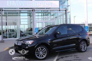 2017 BMW X3 xDrive28i M Sport Line and Premium Package Enhanced!