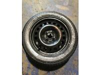 "Michelin 15"" spare wheel"