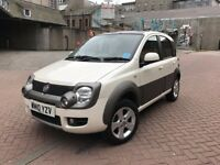 *4x4* AWD RARE OPPORTUNITY-2010 PANDA CROSS DIESEL-1.3cc JUST 70K GENUINE MILEAGE-WHITE PEARL MODEL