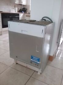 Indesit integrated dishwasher model no DIF16B1