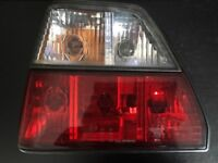 MK2 Golf Clear Tail Lights (complete)