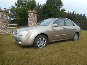 2006 Kia Spectra Sedan, LOW KLMS, 1 owner and clean