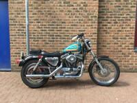 Harley Davidson evo sportster 883