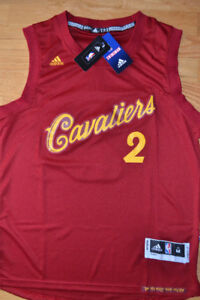 NEW w tags Kyrie IRVING All Embroidered Jersey