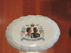 The Queen's silver jubilee plate