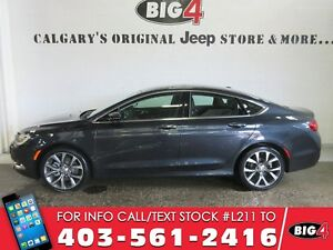 """2016 Chrysler 200C, Leather, Pano roof, 19"""" alloys, camera"""