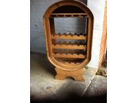 Mexican styled wine rack