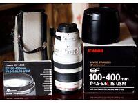 Camera Lens CANON EF 100-400MM IS USM 4.5-5.6L