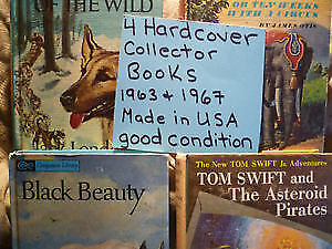 4 Hard Cover Collector Books 1963 & 1967