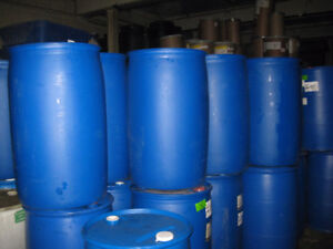 1000's of 55 gallon blue barrels. Need Gone