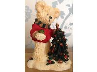 Christmas in July Teddy in Christmas Jumper Ornament