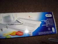 Zyliss gourmet mandolin slicer, as new, surplus to requirement