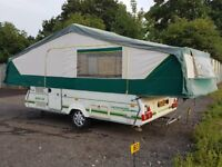 Pennine Pathfinder folding camper (2003) - with full awning and separate bedoom annex