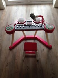 ELC piano and drums