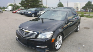 MERCEDES C 300 2011 AWD LOW KM
