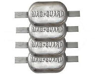 narrow boat anodes fresh water magnesium 2.5kg x4 annodes