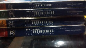 Used PanGlobal 4th Class Power Engineering 4 Volume Textbook Set