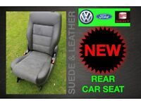 NEW VW SHARAN SEAT ALHAMBRA FORD GALAXY SEATS REAR LEATHER SUEDE RECLINE SIT 2001-2011