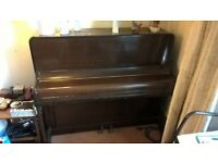Piano available for collection