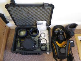 PRICE DROP! Sea&Sea MDX70D. Canon 70D, Canon 100mm USM. Sigma 10-20mm 1:4-5.6 DC HSM + Ports