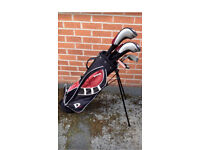 Wilson stand bag and clubs