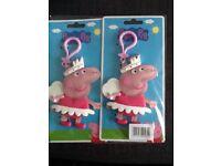 Peppy pig key ring