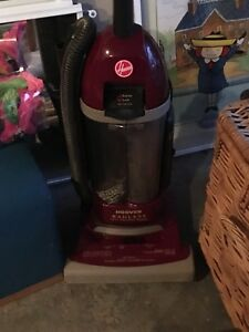Hoover bagless hepa upright vacuum