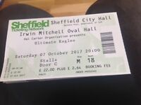 Ultimate Eagles tickets Sheffield city hall