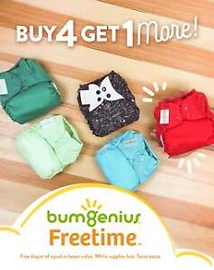 bumGenius Freetime - Buy 4, Get More & save over 30%!