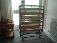 2 Folding Guest Beds - NO mattresses