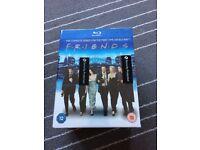 Friends all seasons blu-ray box set. Unopened.