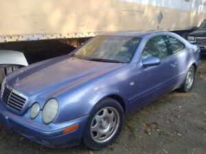 1999 Mercedes-Benz CLK 320 118700 Kms Blue on Grey Leather