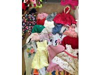 Massive bundle of 12-18 month girls clothes!