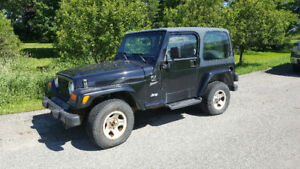 SOLD PPU | 2000 Jeep TJ Coupe (2 door)