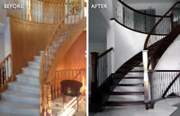 Stair and railing Renovation