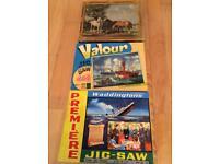 3 retro jigsaws
