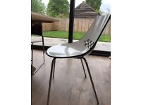 Four modern Calligaris Jam dining chairs