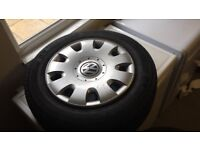4 tyres size 15s good condition vw rims