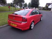 07 Vauxhall Vectra SRI XP rare special edition in sports red mint fsh 2.2 petrol quick car no faults