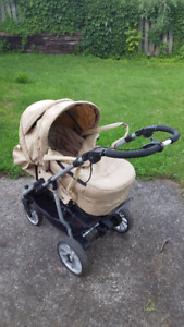 Stroller and carrycot (Teutonia - Be You Elite)
